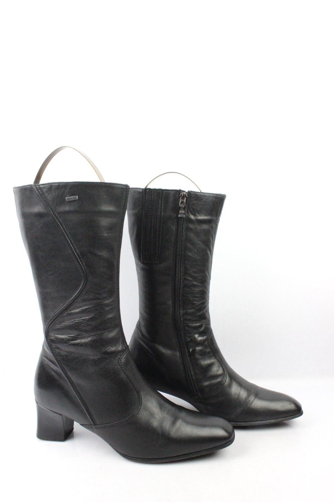 Mi Schwarzes Leder-Stiefel ARA UK 6,5 G   en 40 sehr guter Zustand