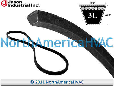 "NEW VBelt FHP V-Belt 3L 3L330 Industrial Grade 3//8/"" x 33/"" HVAC Lawn Mower Auto"