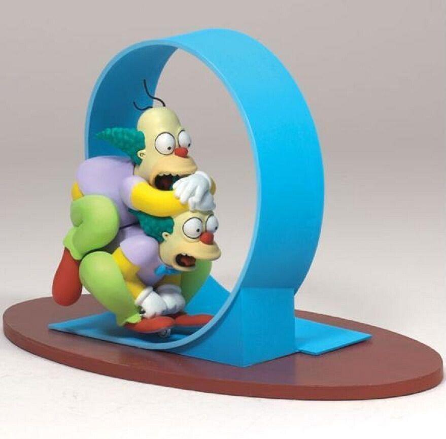 McFarlane Simpsons Series 2 figure set Homer & Krusty of Homie the Clown bart