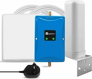 3G 4G LTE Handy Signal Booster Kit 800/900MHz Verstärker Band 8/20 Daten Stimme