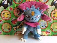 Pokemon Plush Weavile I Love Gothic set ghost UFO Stuffed doll figure Goth go