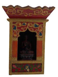Tempio Altare Tibetano Scatola Per Soprammobile Budda Tibet 29x21 CM 25302