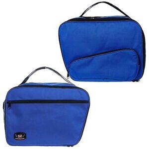 Pannier-Liner-Inner-Luggage-Bags-To-Fit-K1600GT-amp-GTL-Blue-Pair-Suitcase-Opening