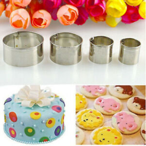 4Pcs-Stainless-Steel-Round-Fondant-Cake-Mold-Biscuit-Craft-Pastry-Cookie-Cutter