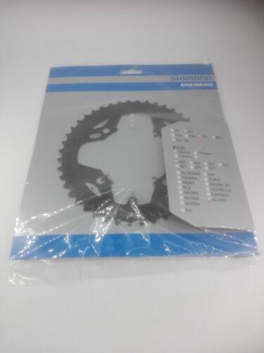 Shimano Alivio fc-m431 catene foglio 44 denti lk104 ACCIAIO NERO