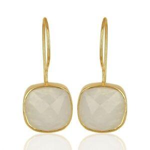 Rainbow-Moonstone-925-Sterling-Silver-Drop-Dangle-Earring-Gemstone-Jewelry