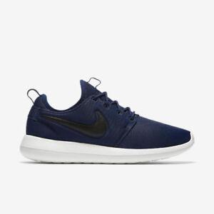 d4cbfe453b86 NEW Men s Nike Roshe Two Casual Shoe Navy Blue   Black   Sail Sz 10 ...