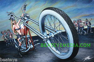 THE-PIZZ-PRINT-COMICS-CHOPPER-HARLEY-WCC-ED-ROTH-HOTROD-OCC-COMIX-LOW-BROW-TATOO