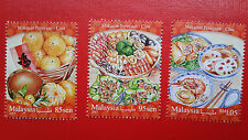 2017 Malaysian Festival Food Series Chinese - Stamp Set