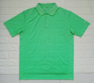 NWOT-Nike-Golf-Dri-Fit-Green-Polo-Shirt-for-Men-size-Large