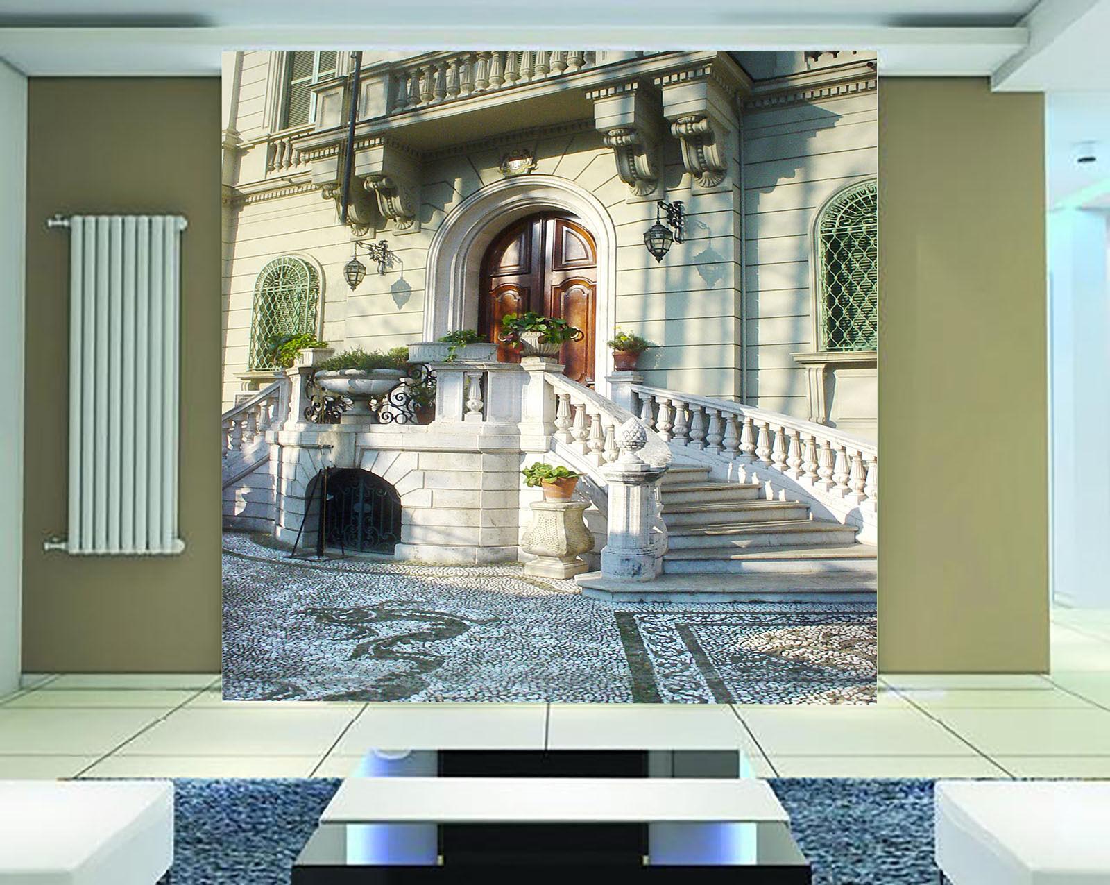 3D Die Halle 00298 Fototapeten Wandbild Fototapete BildTapete Familie DE