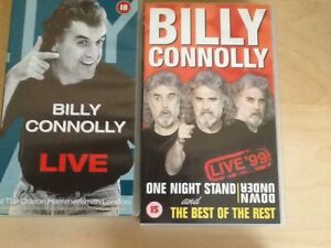 BILŁY CONNELLY VHS VIDEO LIVE X 2 - Liverpool, Merseyside, United Kingdom - BILŁY CONNELLY VHS VIDEO LIVE X 2 - Liverpool, Merseyside, United Kingdom