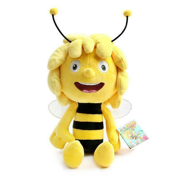 35cm Maya The Bee Doll Honey Movie Character Rag Plush Soft Touch Toy_IA