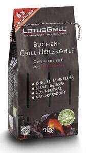 LotusGrill-1kg-Buchenholzkohle-Kohle-fuer-den-raucharmen-Holzkohlegrill-Grill