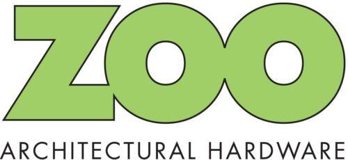 """Acier Inoxydable numéro/"""" 1/' pour les portes 102 mm par Zoo Hardware ZSN01BSS"""