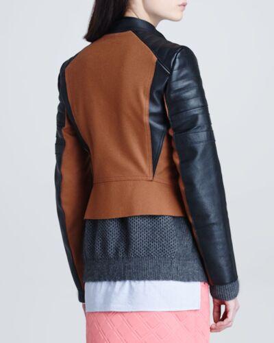 Cinnamon Leather 8 Felt Lim black 3 In Retail amp; Moto Jacket 950 1 Philips Size wRZngq1xzX
