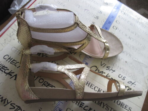Light Gold,Choose Sizes NEW NIB Kenneth Cole Lost Time Dress Gladiator Sandals