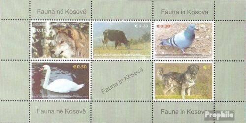 kosovo UNAdministration block1 fine used cancelled 2006 Animals