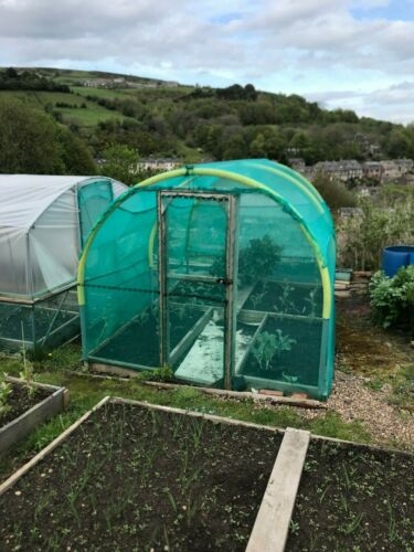 BUTTERFLY  NETTING PEST CONTROL 2M X 5M GARDEN BLACK GREENHOUSE SHADE