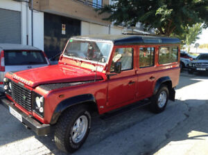 2003 Land Rover Defender leather ( NEW )