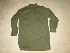 Vintage RARE  40s USN US Navy Olive GREEN  WW2  Work SHIRT USN Sz.16