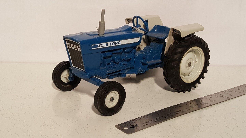 Ertl Ford 4600 con enganche de 3 puntos 1 12 Diecast Metal Replica De Tractor De Granja