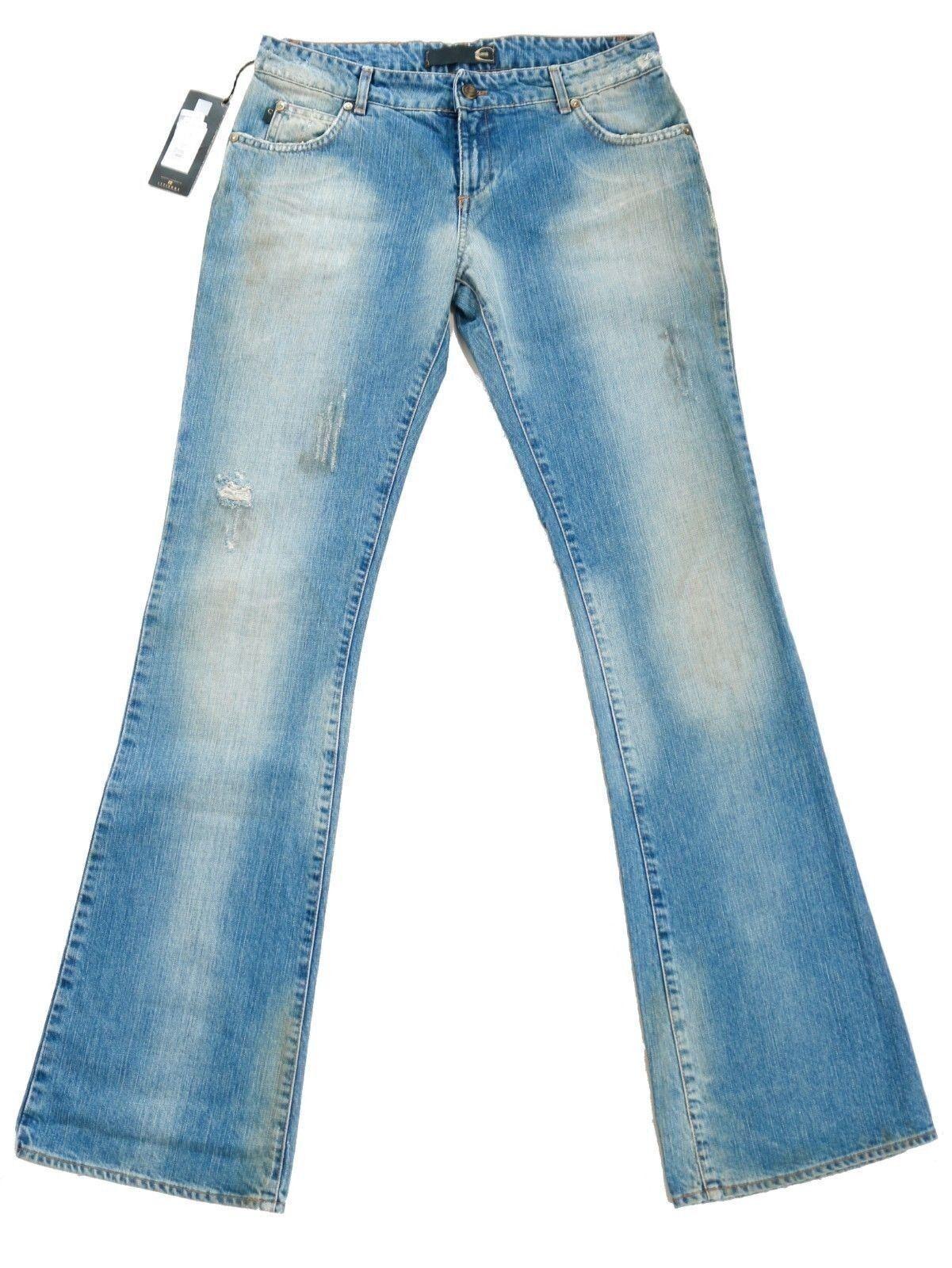 Just CAVALLI Donna Jeans Designer-Pantaloni   avvio-Cut   w30 l34   UVP