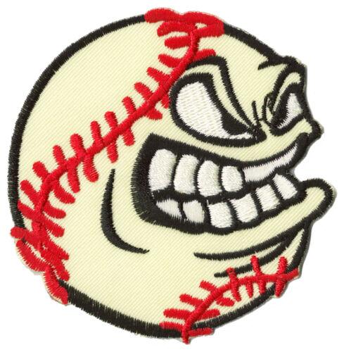 Patch écusson blason patche Baseball Balle thermocollant