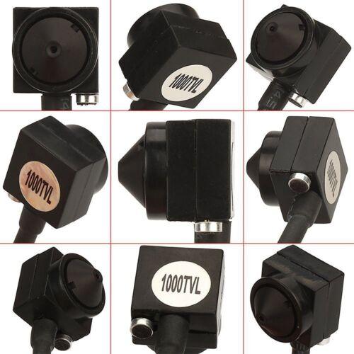 Vanxse Cctv Sony Ccd Hd Mini Spy Pinhole Security Camera 1000Tvl Hidden Mini Cct