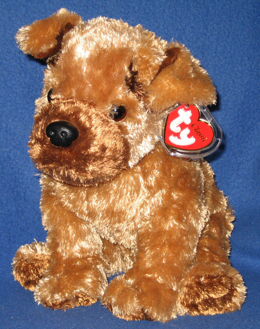 TY CLASSIC PLUSH - HUTCH the the the DOG - MINT with MINT TAGS 27f1b5