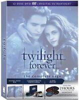 Twilight Saga (dvd, 2013, 12-disc Set) Brand Box Set