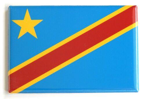 Flag of Congo Kinshasa FRIDGE MAGNET democratic republic