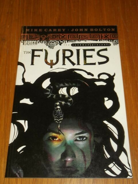 Furies Sandman Presents by Mike Carey Vertigo (Paperback)< 1401200931