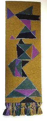 KÜnstlerteppich Balance Wandteppich Atelier FÜr Teppichkunst 1979 E. W. Kunz