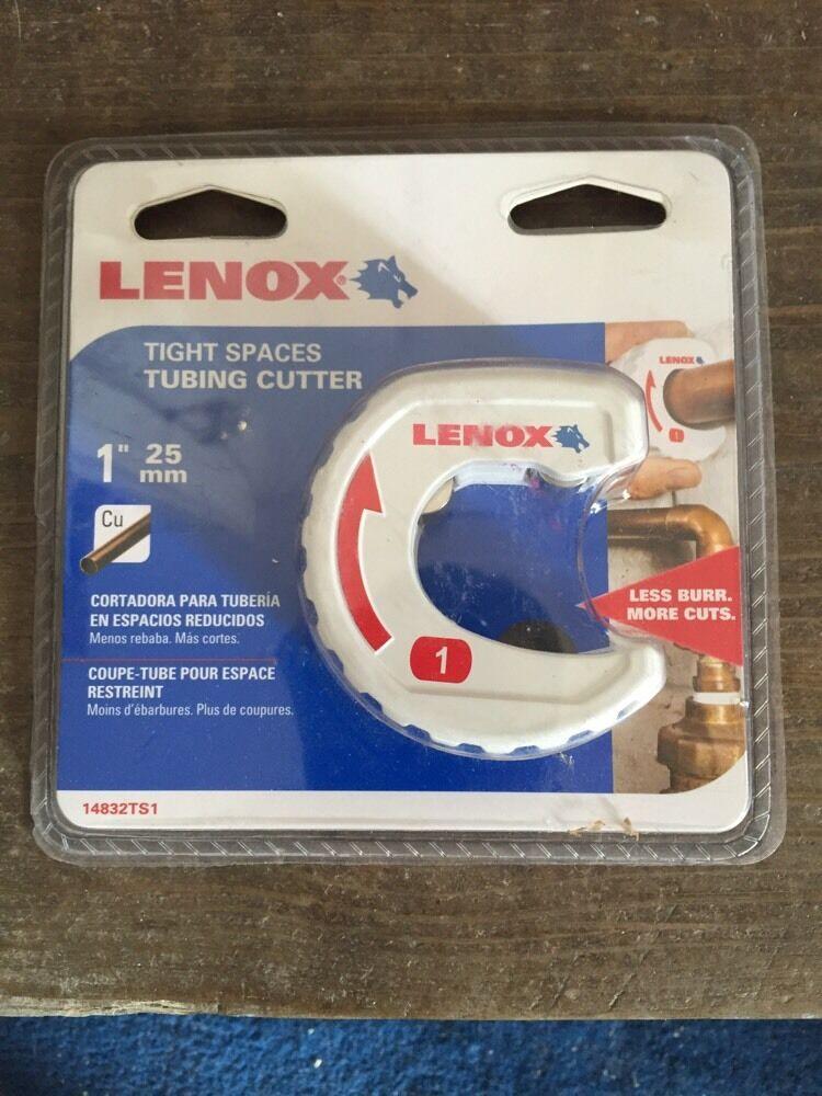 14830TS12 Lenox Tools apretado-Spot Cortador de tubería de 1//2 pulgadas