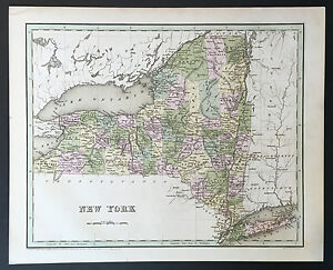034-Map-of-New-York-034-T-G-Bradford-1838