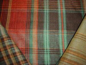 Ralph-Lauren-LFY68319F-Wilhelm-Linen-Tartan-Plaid-Savanna-Upholstery-Fabric