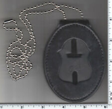 New York and New Jersey Police Officer/'s Badge Recessed Cut-Out Neck Hanger