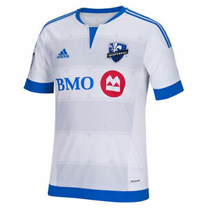 adidas Montreal Impact MLS 2015   2016 Soccer Home Jersey New White ... c87362c07