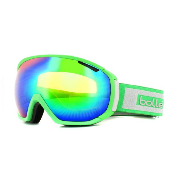 Bolle Ski Goggles Tsar 21444 Matt Green & Grey Green Emerald