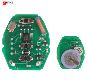 Details About W Rechargeable Battery Remote Circuit Board 3 Button 315mhz For Bmw E46 Key Fob