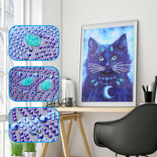 Special Shaped Crystal Diamond Painting DIY 5D Partial Drill Cross Stitch Kits