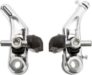 oder Hinterrad oder als Set Shimano Cantilever-Bremse BR-CT91 silber für Vorder