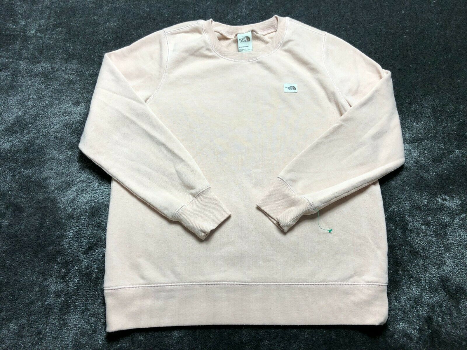 The North Face Women's Pink Crew Neck Pull Over Sweat Shirt Size L Large
