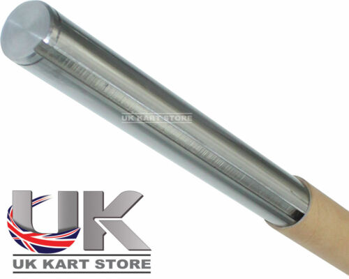 "30mm x 1090mm 43"" Solid Steel Kart Axle Prokart Honda 6mm Key Tough & Durable"