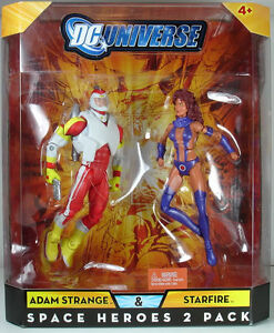 DC Universe Classics ADAM STRANGE STARFIRE Space Heroes Figure 2-Pack EXCLUSIVE