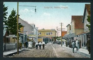 Bridge Street Stores >> Details About Bridge Street Seaside Oregon Great Detail On Stores 1911 P285
