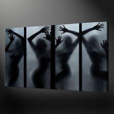 EROTICO GIRLS 1 PANNELLO TELA DA PARETE ARTISTICA IMMAGINI STAMPA 76.2x50.8cm