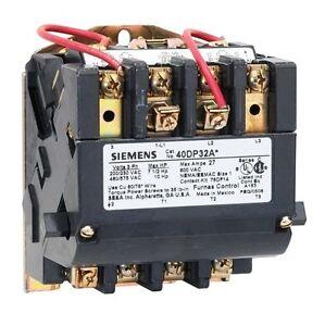 New furnas siemens nema size 3 magnetic contactor cat no for Siemens magnetic motor starter