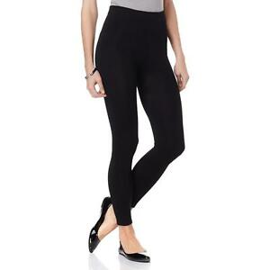 a9f3e5584be2f Details about Curations Caravan Fleece-Lined Footless Tights 372470-MJ  (XS,S,XL,1X)
